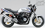 К-кт наклеек Honda CB400 SF VTEC Spec 2 2002-2003 Ver.Force Metallic Silver