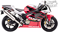 К-кт наклеек Honda RVT 1000R RC51 2000-01 Ver.Winning Red
