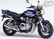Yamaha XJR 1300 2002 Ver.Deep Purplish Blue Metallic