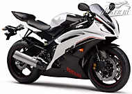 К-кт наклеек Yamaha YZF-R6 2014 Ver.Competition White